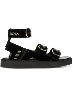сандалии с ремешком на щиколотке Nicholas Kirkwood