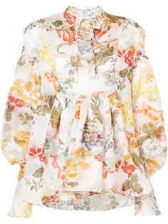 блузка с цветочным принтом Rosie Assoulin