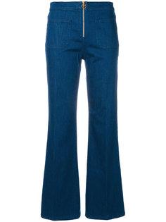 джинсы клеш Tory Burch