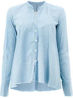 классическая приталенная блузка  Greg Lauren