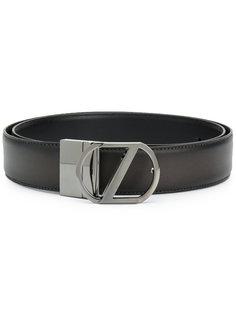 ремень с пряжкой-логотипом Z Zegna