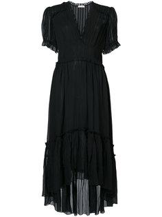асимметричное платье с V-образным вырезом Ulla Johnson