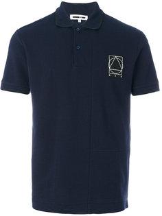 рубашка-поло с фирменной нашивкой McQ Alexander McQueen