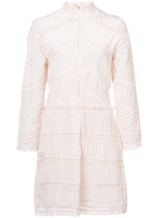 кружевное платье с высокой горловиной Ulla Johnson