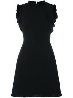 платье-мини с открытой спиной Miu Miu