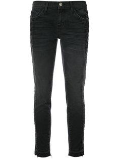 укороченные джинсы скинни Current/Elliott
