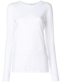 футболка слим с длинными рукавами  Rag & Bone /Jean