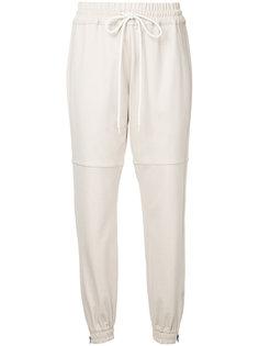 спортивные брюки с манжетами  Bassike