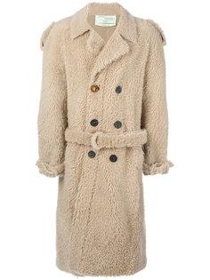 свободное пальто Off-White