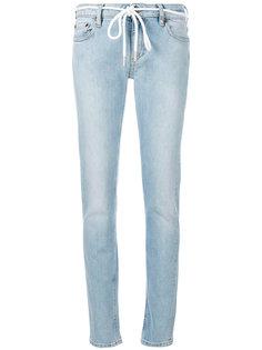 узкие джинсы Diag Off-White