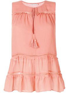 блузка с оборками  Alice+Olivia