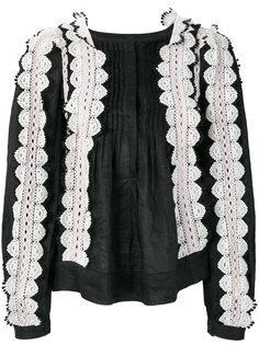 блузка с кружевной отделкой Isabel Marant
