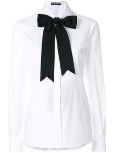 рубашка с завязками Dolce & Gabbana