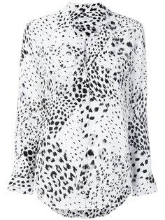 блузка с животным принтом Equipment