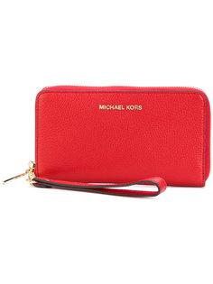 кошелек на молнии Mercer Michael Michael Kors