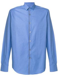 рубашка с контрастной окантовкой Lanvin