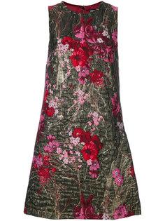 парчовое мини платье Dolce & Gabbana