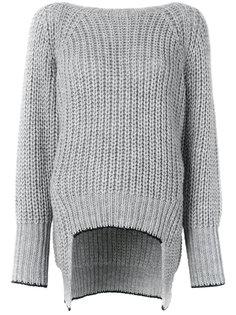 свитер с V-образным вырезом Nude