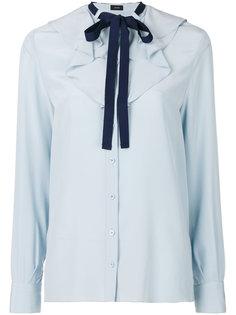 блузка с завязкой на мягкий бант Joseph