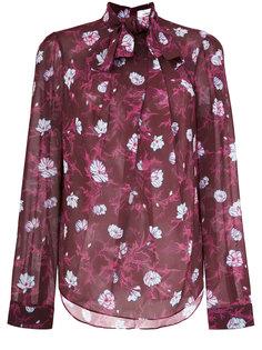 блузка с бантом сперди Carven