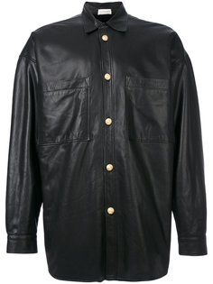 куртка из кожи ягненка на пуговицах Faith Connexion