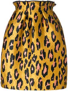 юбка с леопардовым принтом Odeeh