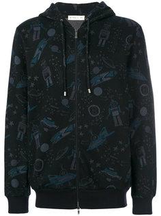 куртка с капюшоном с космическим принтом Etro