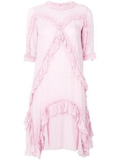 платье шифт с плиссировкой Ulla Johnson