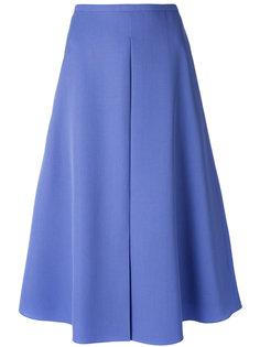 расклешенная юбка-миди Rochas