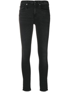 """классические байкерские джинсы """"скинни"""" R13"""