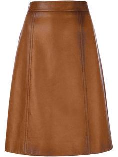 юбка А-образного кроя Prada