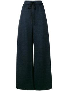 широкие брюки на шнурке  Adam Lippes