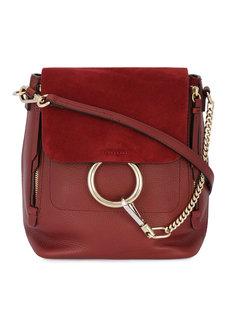 красный рюкзак Faye Chloé