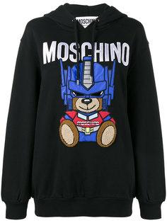 толстовка Transformer Teddy Moschino