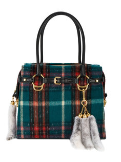 сумка в шотландскую клетку Miu Miu