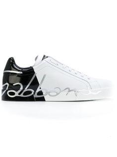 кроссовки с надписью Dolce & Gabbana