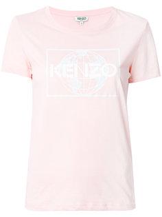 футболка с принтом World Kenzo