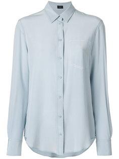 классическая мягкая блузка  Joseph