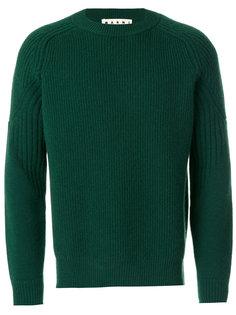ребристый свитер Marni