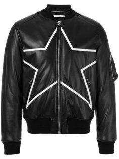 байкерская куртка со звездой Givenchy