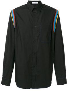 рубашка с контрастными полосками JW Anderson