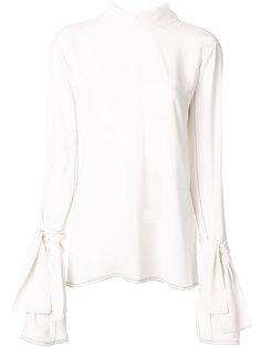 креповая блузка Marni