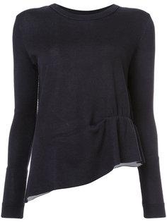 асимметричный свитер со сборками Dorothee Schumacher