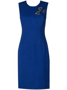 приталенное платье  Versace