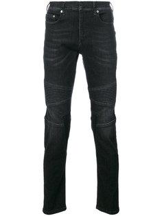 узкие байкерские джинсы Neil Barrett