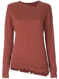 свитер с эффектом потертости Étoile Kelia Isabel Marant Étoile
