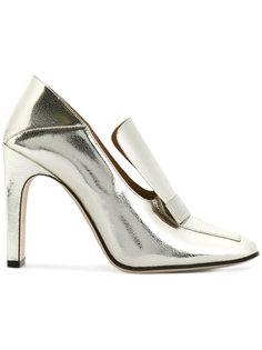 туфли с удлиненным языком Sergio Rossi