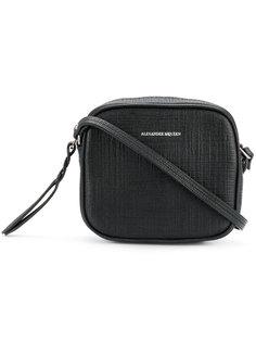 сумка через плечо на молнии Alexander McQueen