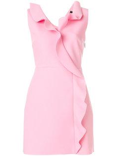 платье без рукавов с оборками MSGM