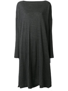 платье свободного кроя с вырезом-лодочкой Daniela Gregis